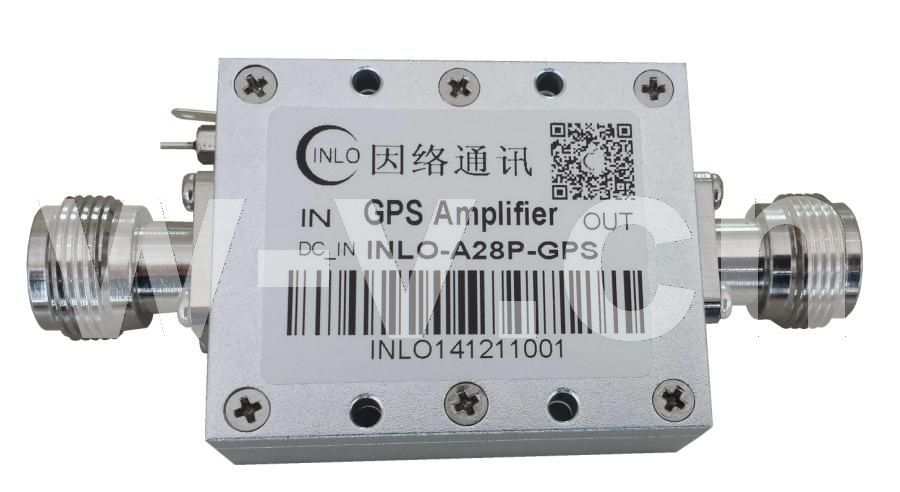 28dB增益GPS信号放大器/GPS放大器